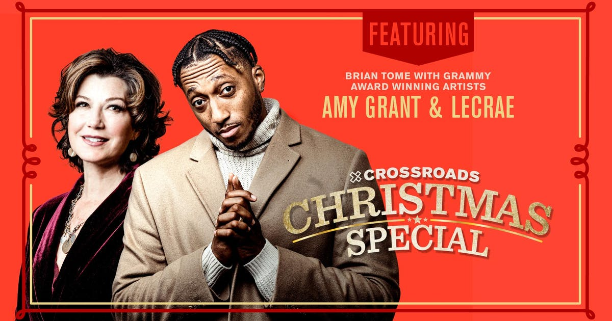 Amy Grant, Lecrae Team Up With Crossroads Church for Christmas Special