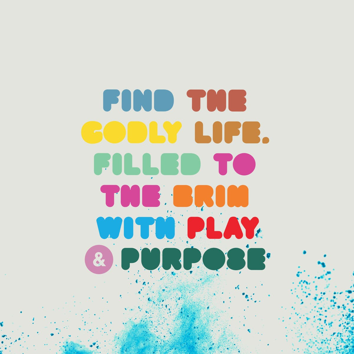 purpose and play journey tagline