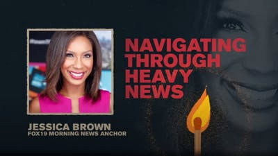 Navigating Through Heavy News | Jessica Brown | spark Week 4